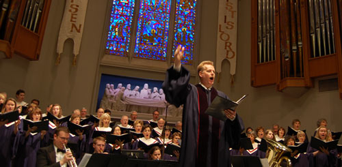 University Presbyterian Church choir